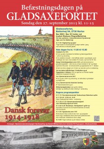 A3 plakat Gladsaxefortet.2 3. udgave