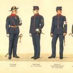 Forplejningsassistent; Overlæge; Underlæge; Sundhedstropperne; Korpsdyrlæge.
