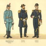Auditør; Feltgendarmeriet; Flåden.
