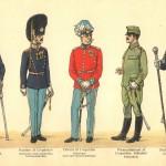 Generalstaben; Den kongelige Livgarde.