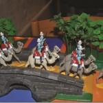 """Legetøjsfigurer: """"Camel Corps, Gordons Undsætningsekspedition, 1884-1885"""" af Claus Mogensen"""