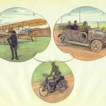 17. Flyvemaskine, stabsvogn og motorordonnans