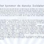 2. Her kommer de danske soldater - tekst