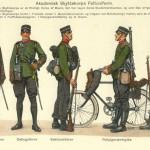 Akademisk Skyttekorps - Feltuniformer, 1916